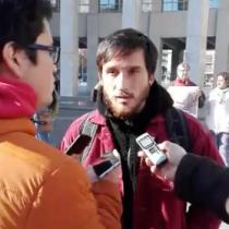 [VIDEO] Protestan contra conferencia internacional de biotecnología que promueve los árboles transgénicos a favor del negocio forestal