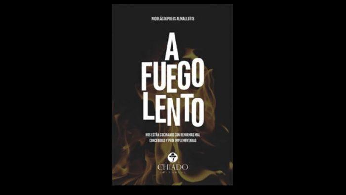 """Libro """"A fuego lento"""" de Nicolás  Kipreos"""