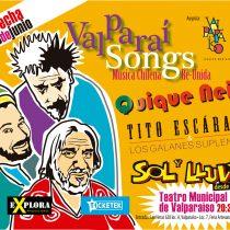Quique Neira, Sol y Lluvia y Tito Escárate reagendan concierto en Valparaíso.