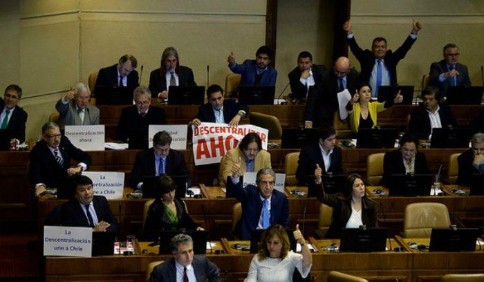 Cámara rechaza elección de gobernadores regionales en este periodo presidencial