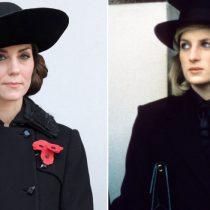 Los looks con los que Kate Middleton nos recuerda a Lady Di