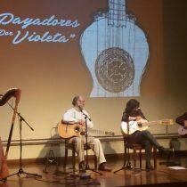 """Payadores por Violeta"" en Corporación Cultural de Recoleta"