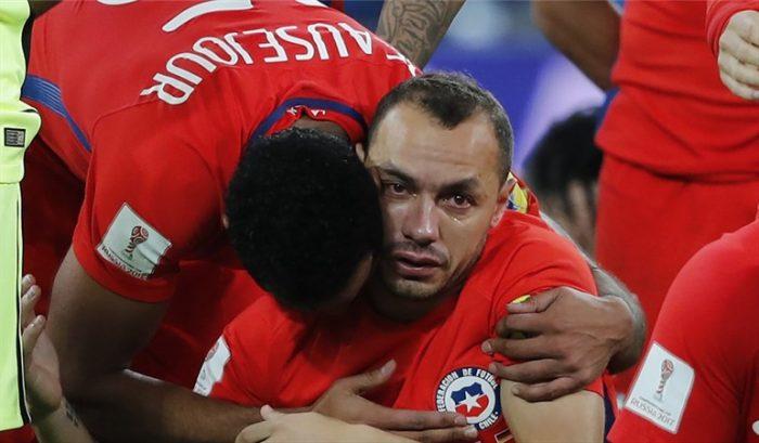 Marcelo Díaz asume su culpa en la derrota de Chile: