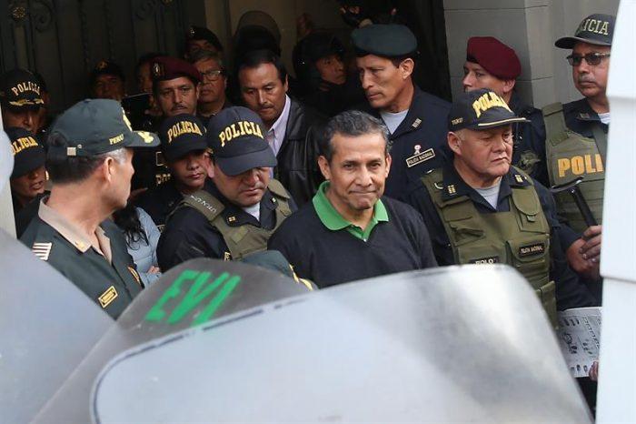 Hijo de Fujimori visitó a Humala en la cárcel y le llevó un sandwich preparado por su padre