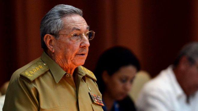 Raúl Castro critica la política hacia Cuba del presidente de Estados Unidos, Donald Trump