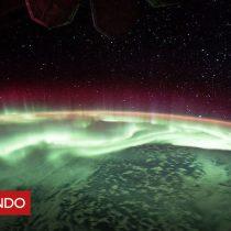 [VIDEO] Así se ve la hermosa e inmensa aurora boreal desde el espacio