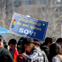 [FOTOS] Mas de 100 mil personas participan en la XVII marcha del orgullo en Santiago