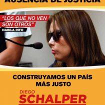 Imagen de Nabila Rifo es usada por candidato a diputado por Chile Vamos