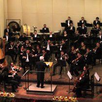 Concierto sinfónico con obras de Silva, Bériot y Liszt en Teatro U. de Concepción