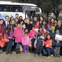 Presidenta Bachelet da el vamos al programa Turismo Familiar en vacaciones de invierno