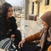 La modelo y actriz boliviana que muestra en directo la realidad de Siria: