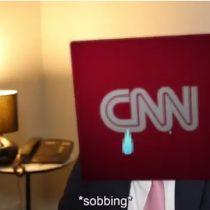 [VIDEO] La divertida respuesta de CNN al video de Donald Trump