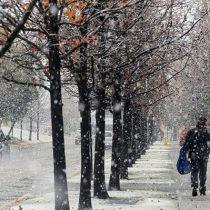 Dirección Meteorológica pronostica hasta 6° bajo cero este domingo en la Región Metropolitana