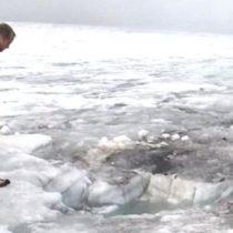 Cómo el retroceso de un glaciar permitió descubrir los cuerpos de una pareja desaparecida hace 75 años en Suiza