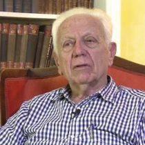 Muere Gustavo Alessandri, fundador de RN y padre del actual alcalde de Santiago