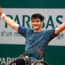[VIDEOS] Tenista sobre silla de ruedas se cae en pleno partido e igual gana en Wimbledon