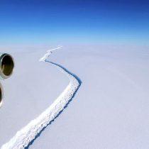 Cambio climático aceleró creación de gran iceberg en Antártida, según experta