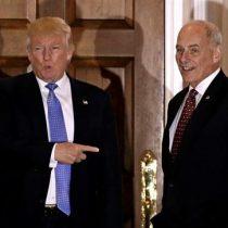 Trump nombra por sorpresa al general John Kelly como su nuevo jefe de gabinete
