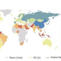 Cuáles son los países más perezosos y más activos del mundo