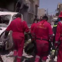 [VIDEO] La desesperada búsqueda de sobrevivientes en Mosul después de haber sido