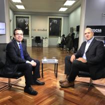 """La Mesa - Luis Felipe Céspedes: """"Las discusiones sobre crecimiento económico son siempre discusiones complejas, hay que evitar caer en el simplismo"""