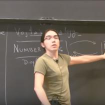 Brillante joven matemático chileno recibe uno de los más importantes premios del rubro de América