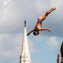 [FOTOS] Las impresionantes imágenes de la competencia de saltos de altura del Mundial de Natación
