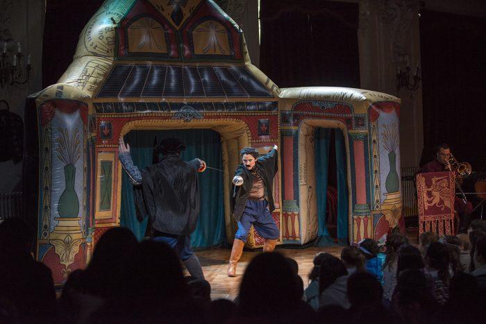 "Concierto dramatizado""Shakespearemanía""en Municipal de Santiago"
