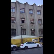[VIDEO] El accidentado e inesperado desenlace de un simulacro de incendio en el centro de Talca