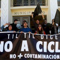 """""""Estamos en el país de la COP 25, paremos la chacota"""": alcalde de Til Til en picada tras fallo a favor del proyecto de residuos tóxicos Cigri"""