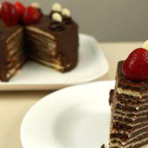 [VIDEO VIDA] Receta Fácil: te enseñamos a preparar una deliciosa torta de panqueque de chocolate