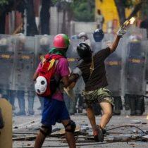 El paro de 48 horas con el que se inició la última arremetida de la oposición en Venezuela contra la Asamblea Constituyente