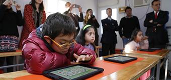 El aula tecnológica para niños y jóvenes con necesidades educativas especiales