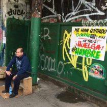 [VIDEO] #PlanComercioJusto de Alcalde de Santiago tiene a vendedor ambulante en huelga de hambre