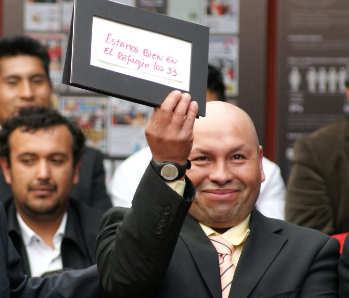 Minero de los 33 de Atacama y autor de famosa nota está internado en centro psiquiátrico
