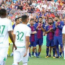 [VIDEO] La goleada y homenaje del Barcelona al Chapecoense en un emotivo encuentro en el Camp Nou