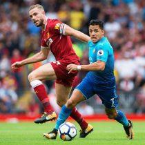 [VIDEO] Alexis Sanchez vuelve a la titularidad en estrepitosa caída del Arsenal frente al Liverpool