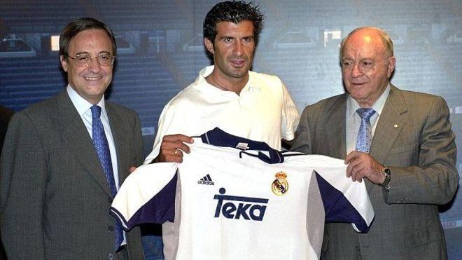 Florentino Pérez revela cómo tramó el fichaje de Luis Figo, la mayor traición en la historia del fútbol español