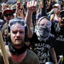 Qué es Antifa, el grupo que está en pie de guerra contra los supremacistas blancos en Estados Unidos