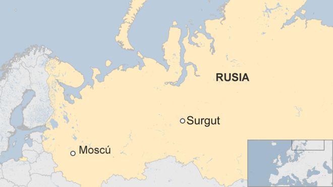 Rusia: al menos ocho heridos deja ataque con cuchillo en Surgut