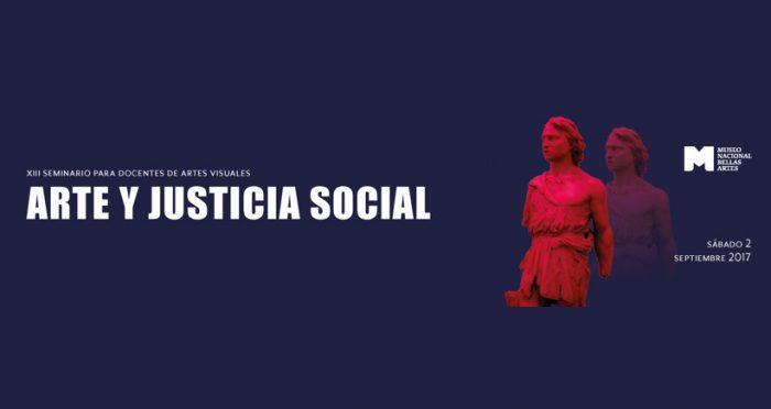 Seminario para docentes Arte y Justicia Social en MNBA