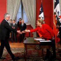 Eyzaguirre es el primer ministro en 70 años que se repite el plato al asumir Hacienda en dos gobiernos distintos