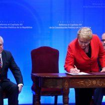 Bachelet enviará proyecto de nueva Constitución a comienzos de octubre e instala el debate en las presidenciales
