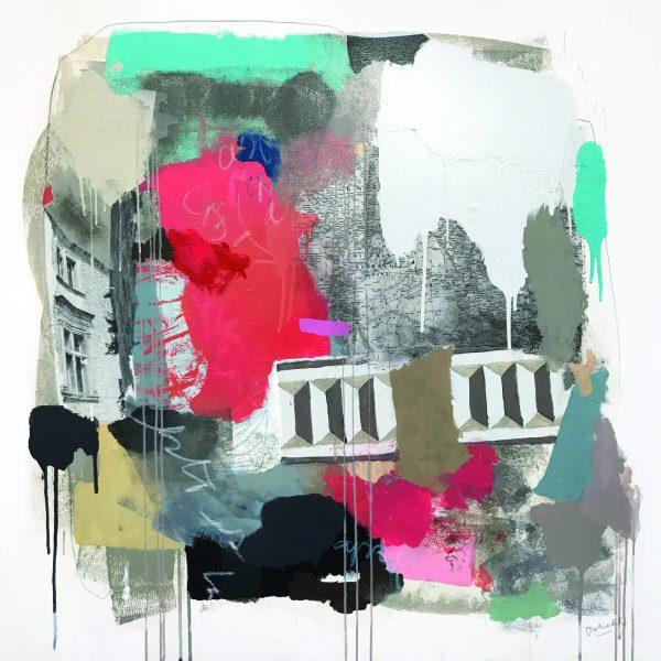 """Exposición """"Atemporal"""" de la artista Carolina Balmaceda en Galería QUQU"""