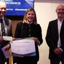[VIDEO] Chantal Signorio recibe premio Ecoscience por su contribución en acercar la ciencia a la comunidad