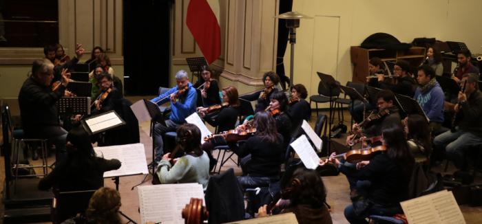 Concierto gratuito de Orquesta Clásica de la Universidad de Santiago en Teatro de San Joaquín