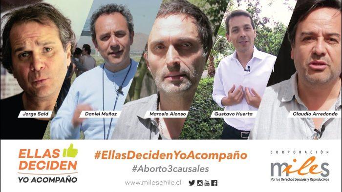#EllasDecidenYoAcompaño / Hombres por el #Aborto3causales