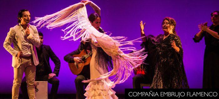 """Espectáculo """"Embrujo Flamenco"""" del bailaor Pedro Fernández en UNAB"""