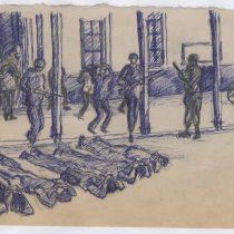 El preso que dibujó el campo de concentración de Chacabuco y sobrevivió para contarlo