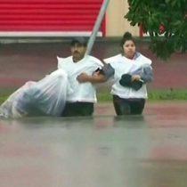 [VIDEO] Las imágenes que muestran la magnitud de las inundaciones en Houston tras el paso de la tormenta Harvey